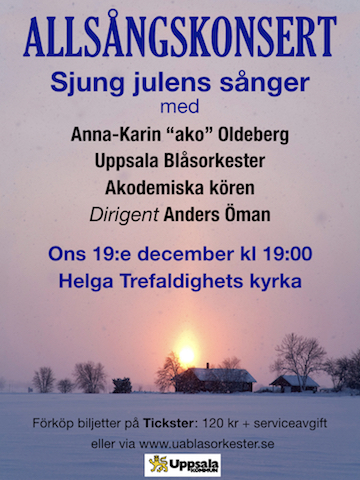 Jul-allsångskonsert